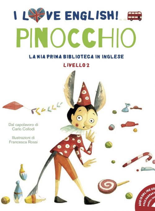 pinocchio Copertine I love english 2019 low